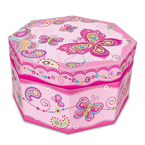 Fancy Jewelry Box (Pecoware Fancy Butterfly Octagon Jewelry)
