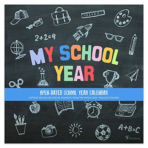 My School Year Non Dated Memory Wall Calendar