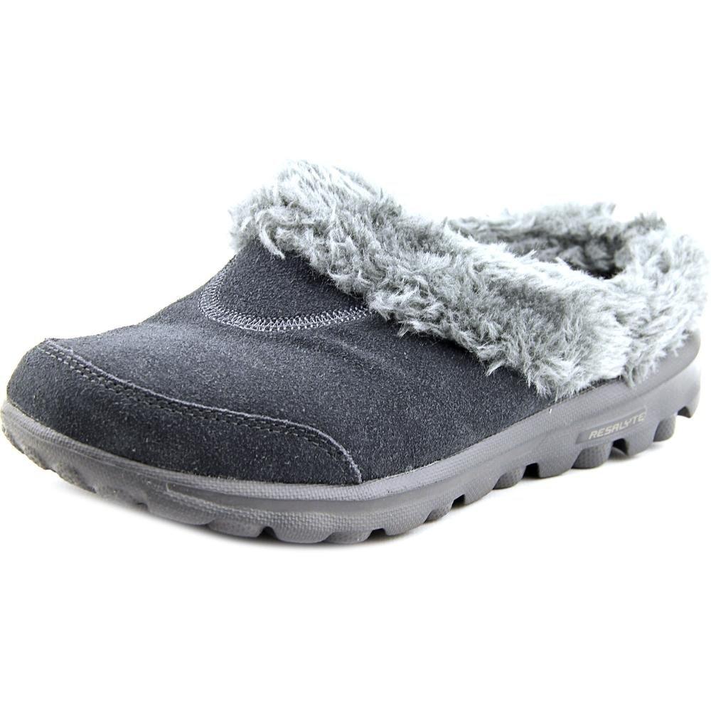 Go Walk Cozy Slipper, Charcoal