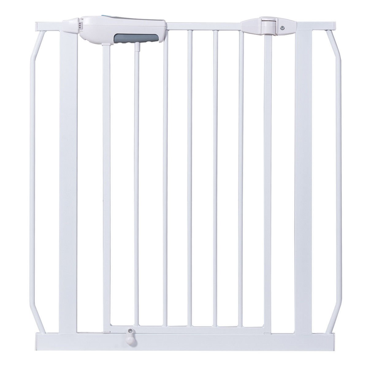 White Iron Baby Safety Gate