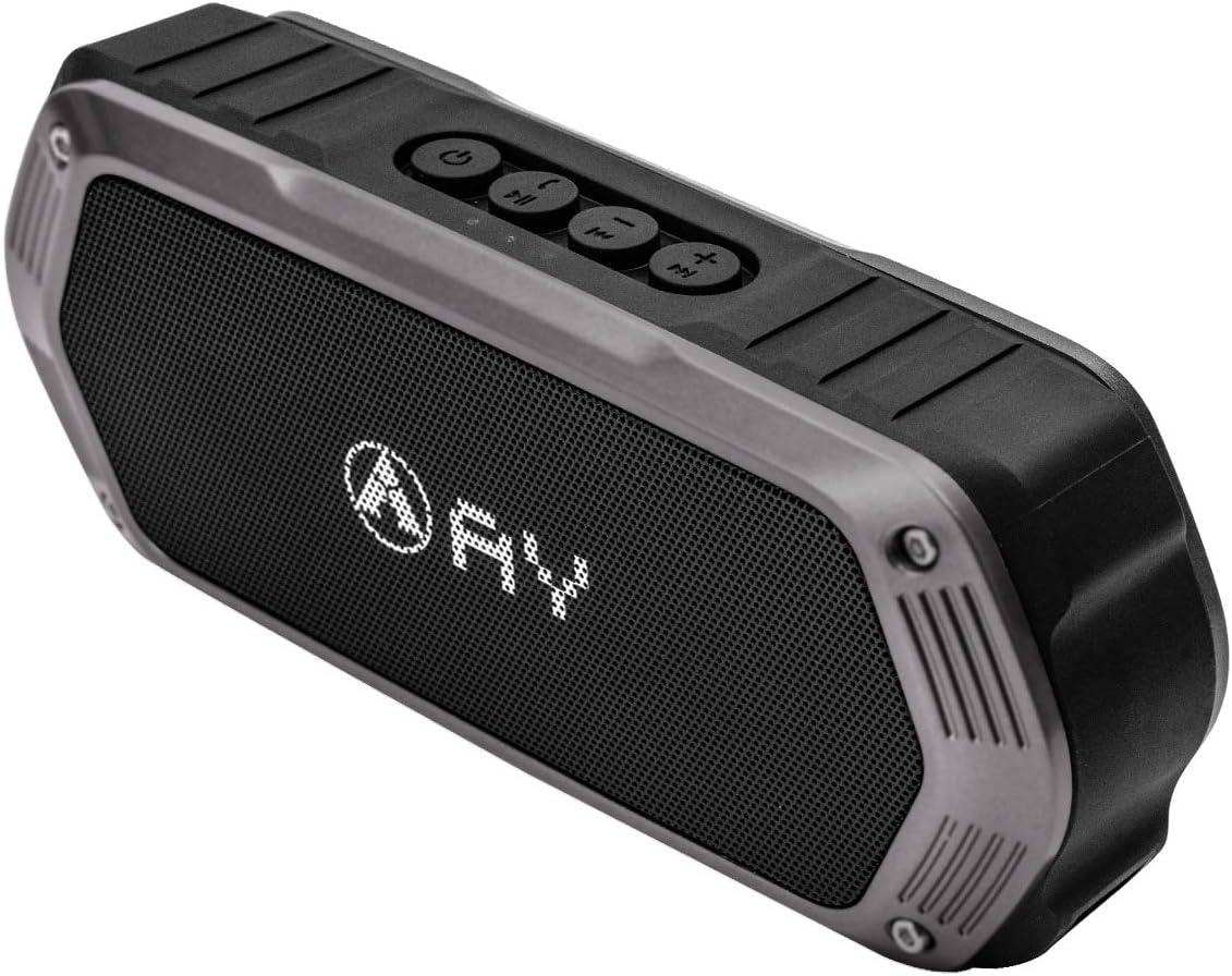 Altavoces Portátiles Bluetooth AY, a Prueba de Agua IPX7,Función ...
