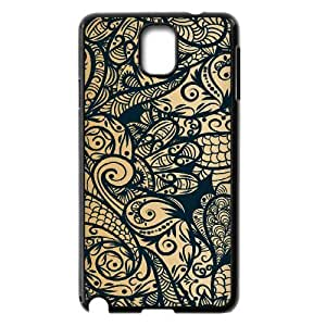 Gold Pattern ZLB565575 Brand New Case for Samsung Galaxy Note 3 N9000, Samsung Galaxy Note 3 N9000 Case