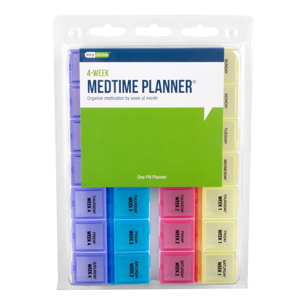 Ezy Dose Monthly Medtime Planner