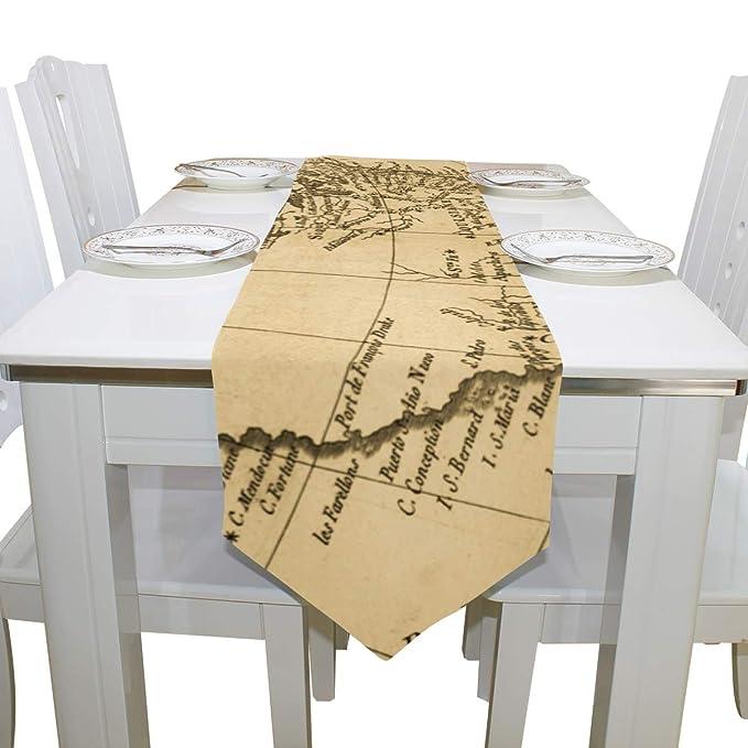 Amazon.com: Top Carpenter Rectangle Old Map North American ...