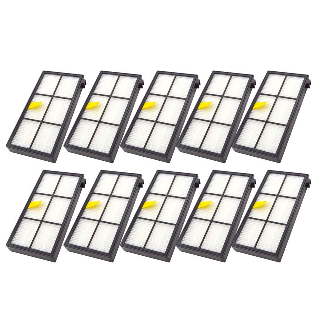 Efaso - Lote de 10 filtros para aspiradora iRobot Roomba 860 ...