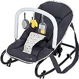 Safety 1st Koala Gandulita reclinable para bebé con funcion mecedora, Hamaca con arco de juego, ligera y compacta, color…