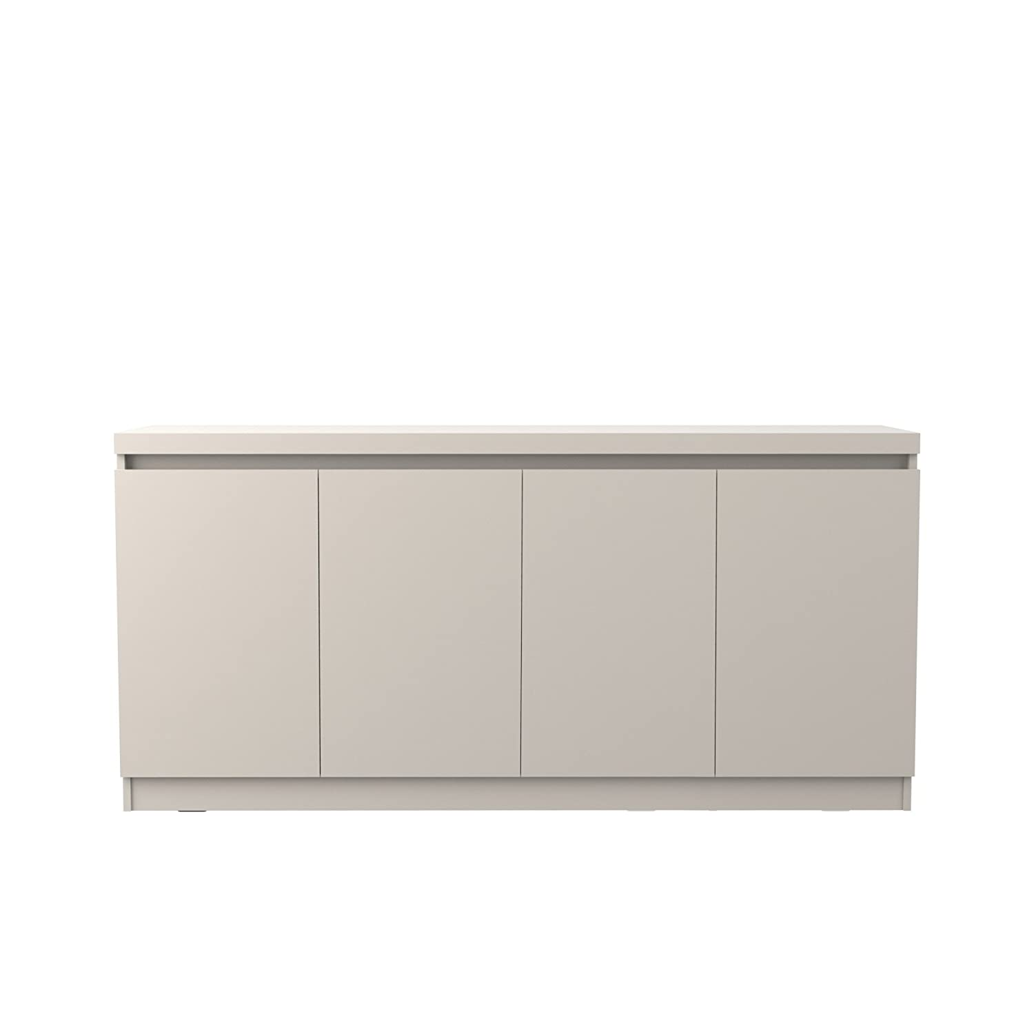 Manhattan Comfort Viennese Large Dining Room Buffet with Storage Off-White