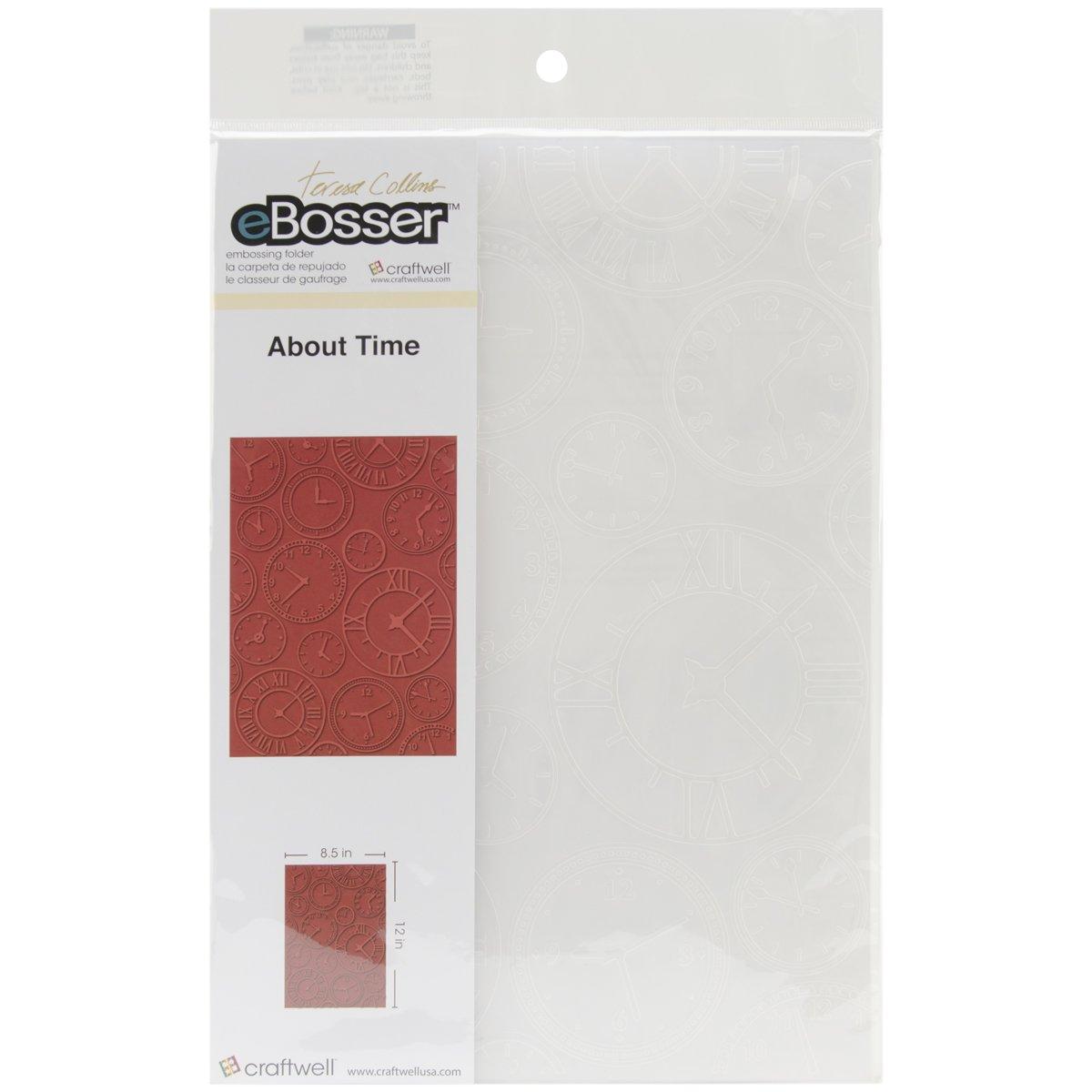 テレサ  コリンズについて時間によってフォルダーの普遍的なサイズをエンボス加工 B00FEGPX8E