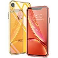 Meidom Slim-Fit Tempered Glass Case for iPhone XR (Clear)