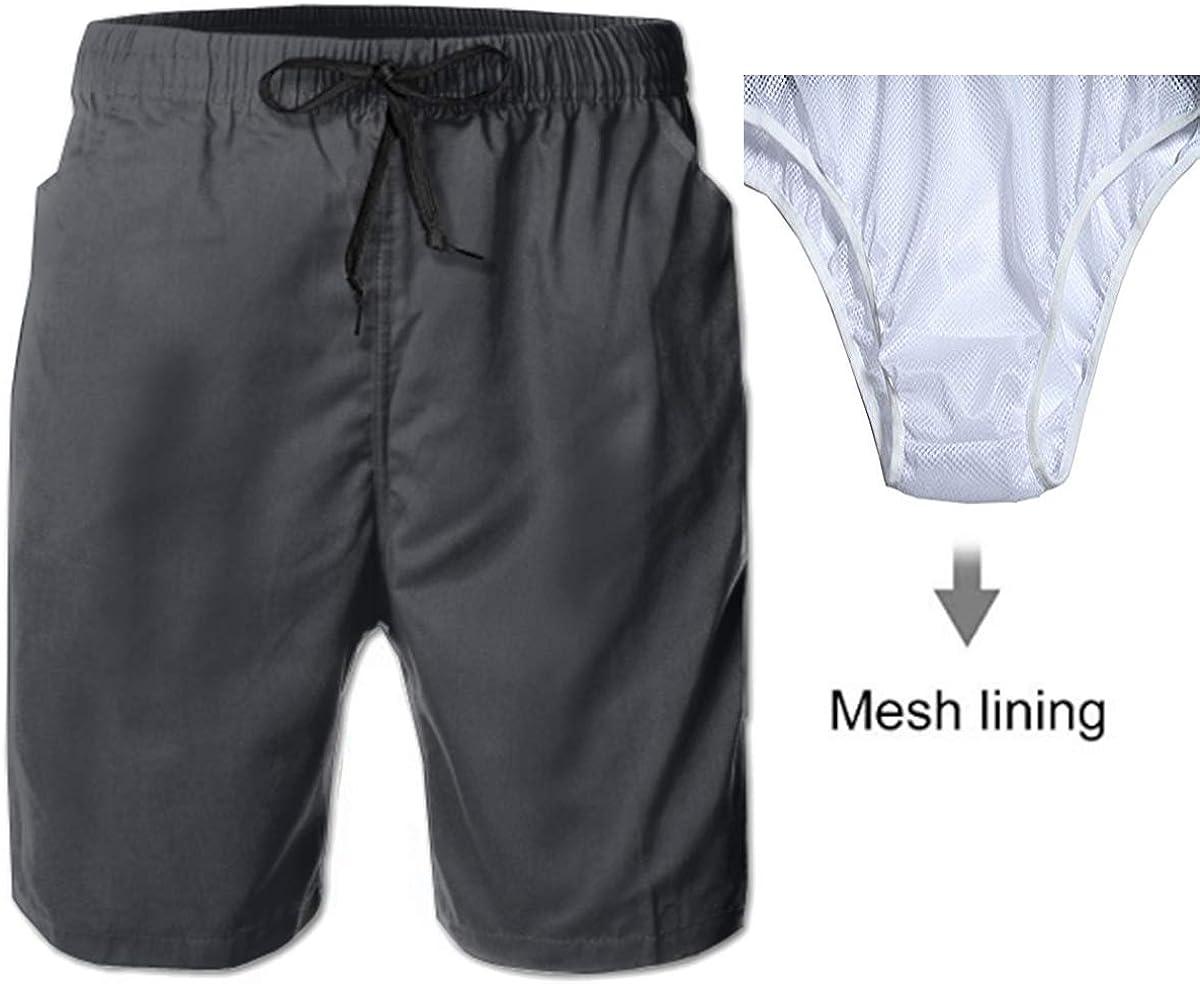 Shark Under Magical Light Summer Casual Style Adjustable Beach Home Sport Shorts