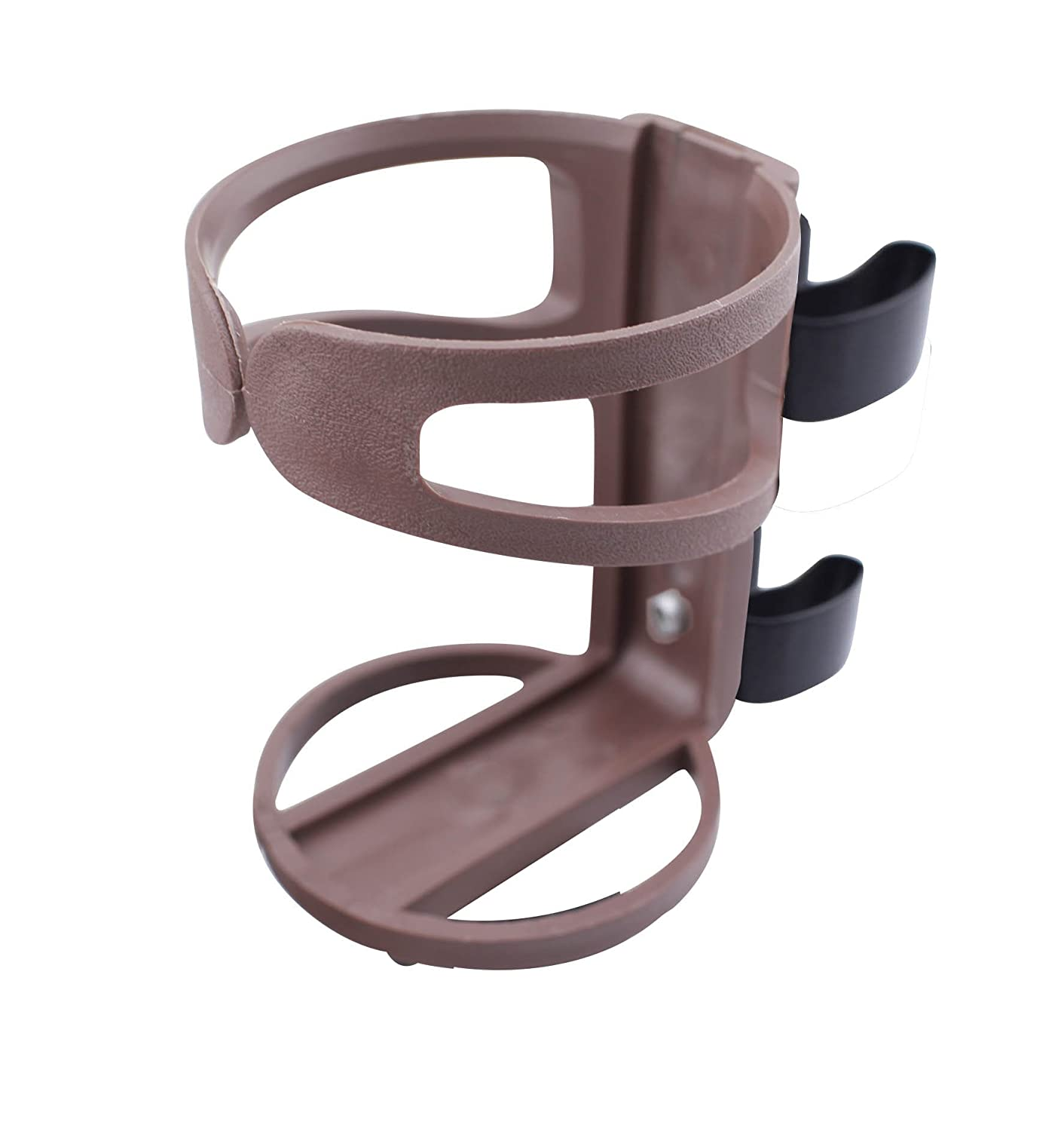 Benovate Universal Wheelchair & Walker & Rollator Beverage Cup Holder - Type II BROWN