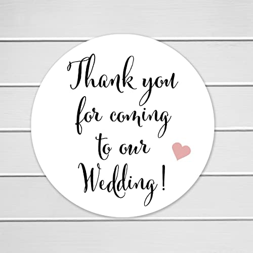 Amazon 40 wedding stickers 2 thank you for coming to our 40 wedding stickers 2quot thank you for coming to our wedding stickers wedding junglespirit Gallery