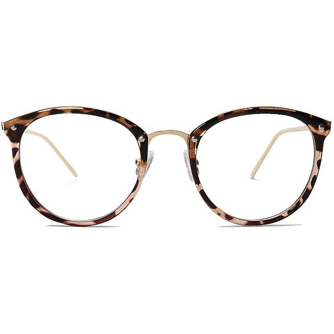 Amazon.com: Amomoma AM5001 - Gafas de sol redondas con ...
