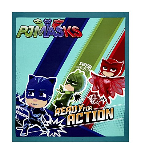PJ Masks Ready For Action 36in Panel Multi Fabric