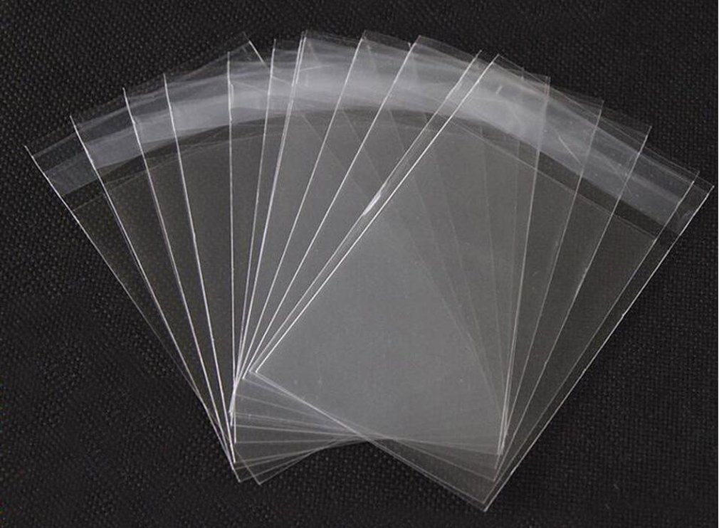 5x7 inches Clear Cello/ Cellophane Bags With Self Seal Lip For Greeting Cards Photographs Calendars Wallets Food Sample Best Xmas Gift (100pcs) ASTRQLE