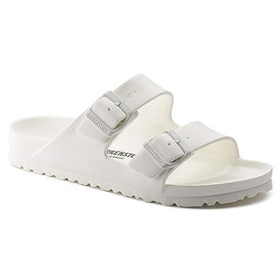 00cb0a72c2df1 Birkenstock Unisex Arizona EVA Sandal, White, 41 Regular/8-8.5 Men