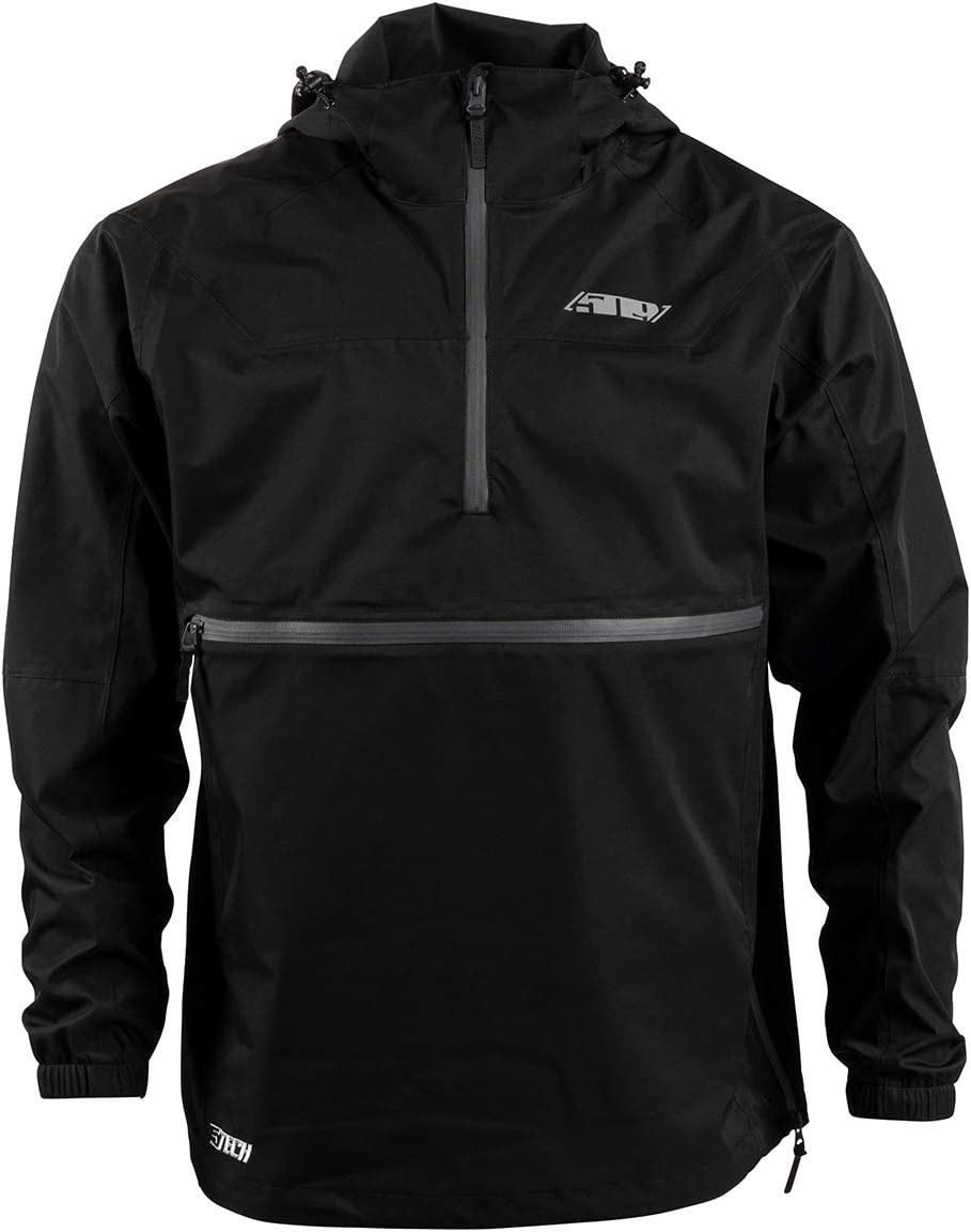 509 Barren Stowable Jacket Black - Large