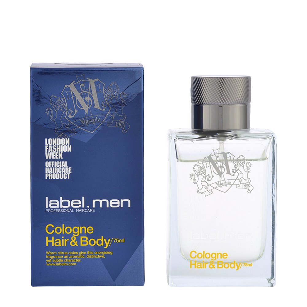 label.men by label.m Cologne Hair and Body 75 ml 5060059577316