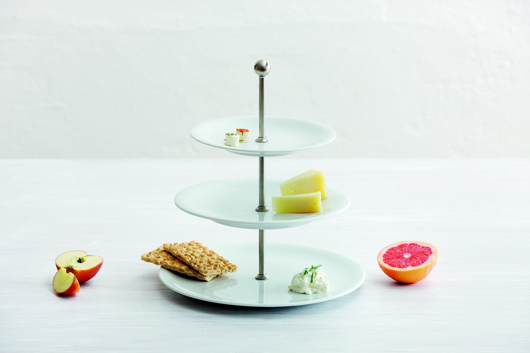 KAHLA Update Stand, 3-piece, White Color, 1 Piece by KAHLA - PORCELAIN FOR THE SENSES (Image #2)