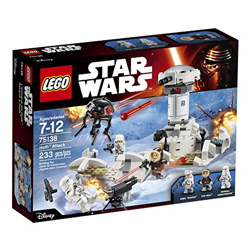 - LEGO Star Wars Hoth Attack 75138