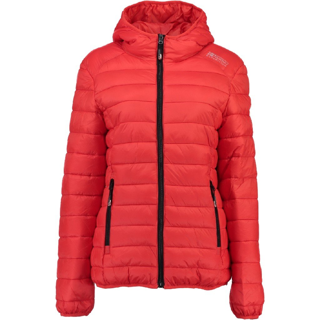 Red 12 Years Geographical Norway Capela Down Jacket Women, women's, Capela