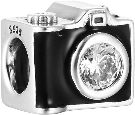 breloque pandora appareil photo