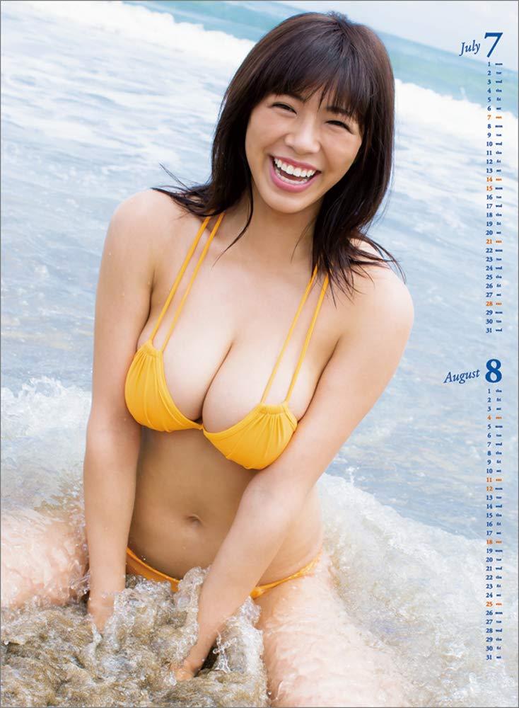 わちみなみ 2019年 カレンダー 画像