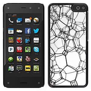 """For Amazon Fire Phone 4.7 , S-type Textura sucia"""" - Arte & diseño plástico duro Fundas Cover Cubre Hard Case Cover"""