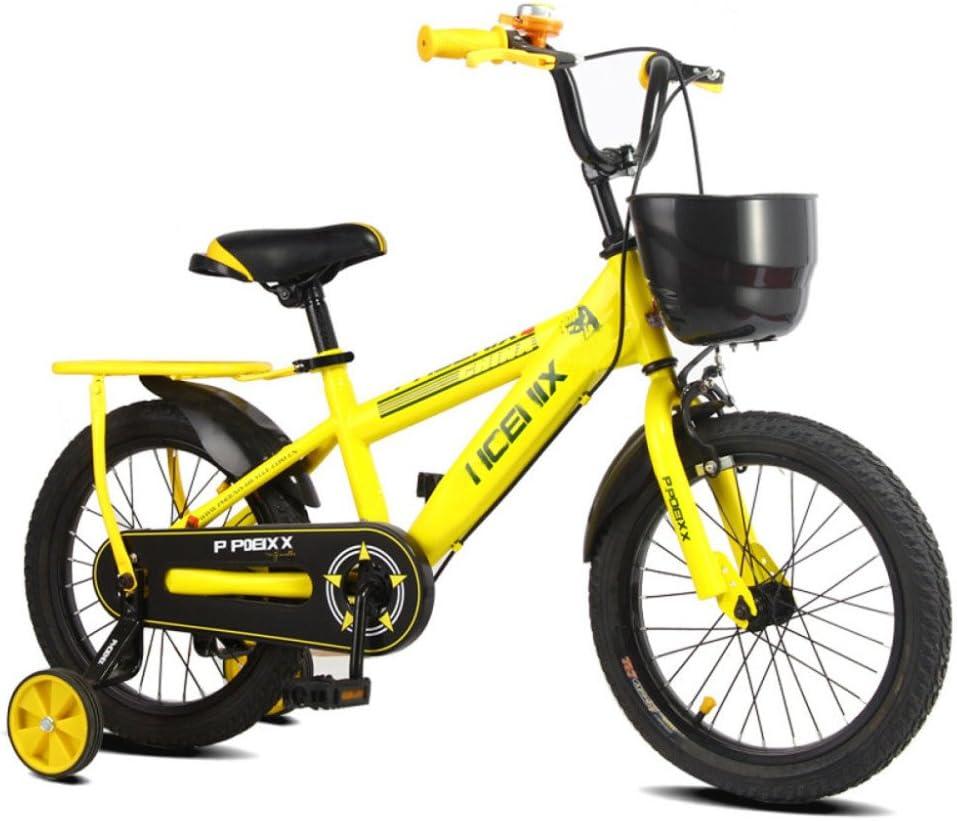 YIHANGG Bicicleta Para Niños Bicicleta Para Niños Niños Y Niñas Aplicable A Niños De 2~10 Años Ajustable Ligero,E(12Inches): Amazon.es: Deportes y aire libre