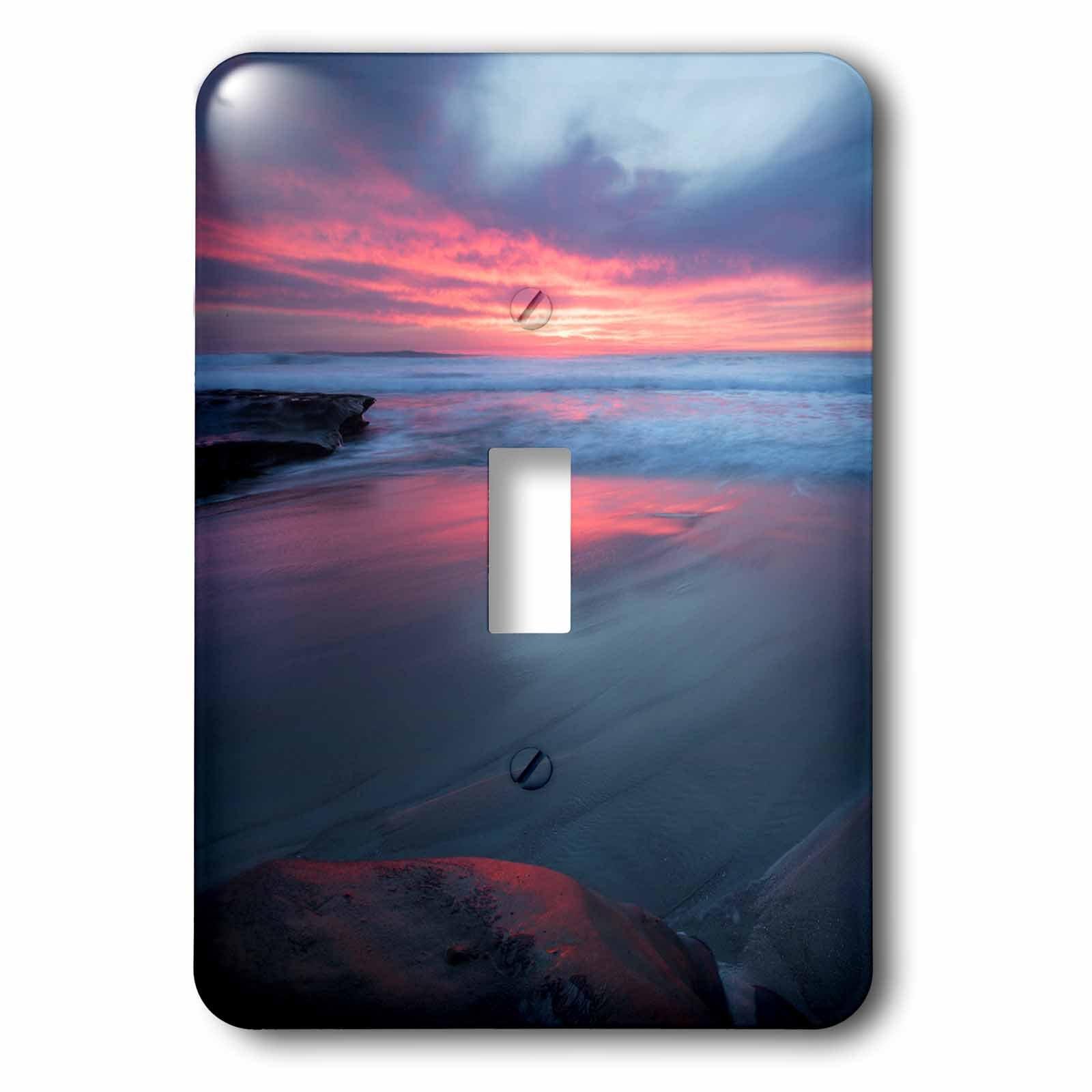 Virginia Chincoteague Island Shoreline scenic at sunrise 2 Plug Outlet Cover 3dRose lsp/_208717/_6 USA
