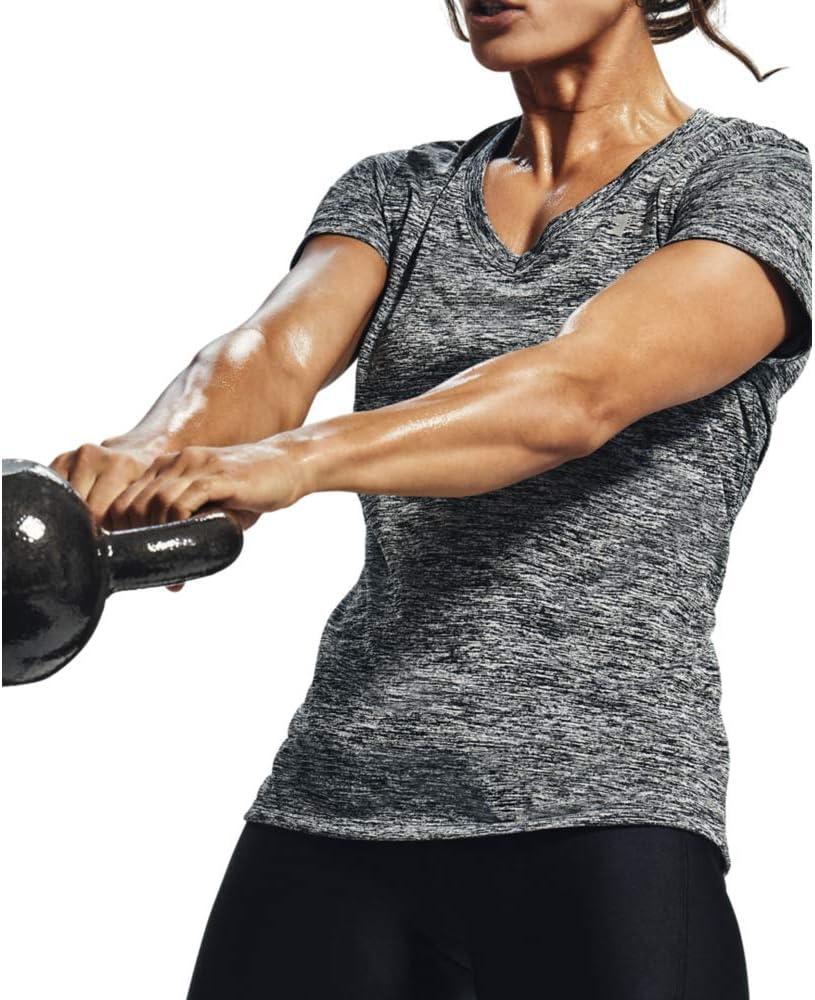 Twist Camiseta Under Armour Mujer Tech Short Sleeve V