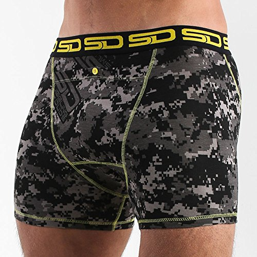 Smuggling Duds Boxer-Shorts Carbon Dig Camo