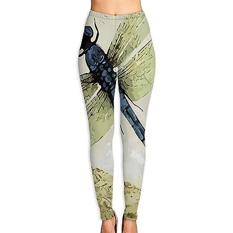 Amazon.com : LeYue Womens Retro Vintage Dragonfly Yoga ...