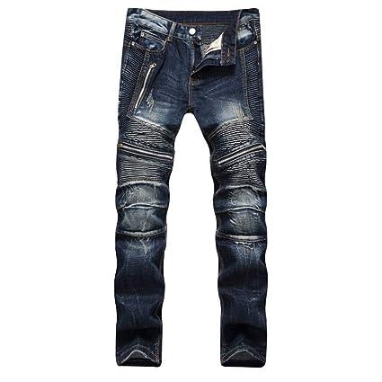 YFCTASQX Los Pantalones Vaqueros De Los Hombres Pantalones ...
