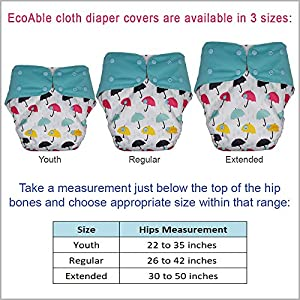 Teen Adult Cloth Diaper Cover – Reusable & Washable for Special Needs Incontinence from Adult Diapers for Women and Men