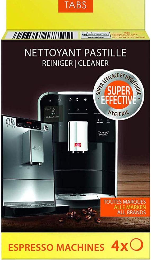 100 Comprimés De Nettoyage 1,2 g 15 mm Nettoyant pour Melitta kaffeevollautautomaten