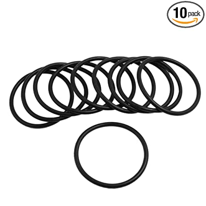 Amazon Com Uxcell 10 Pcs 3mm X 48mm Rubber Sealing Oil Filter O