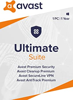 1-Year Avast Ultimate Suite, 2021 (Digital PC)