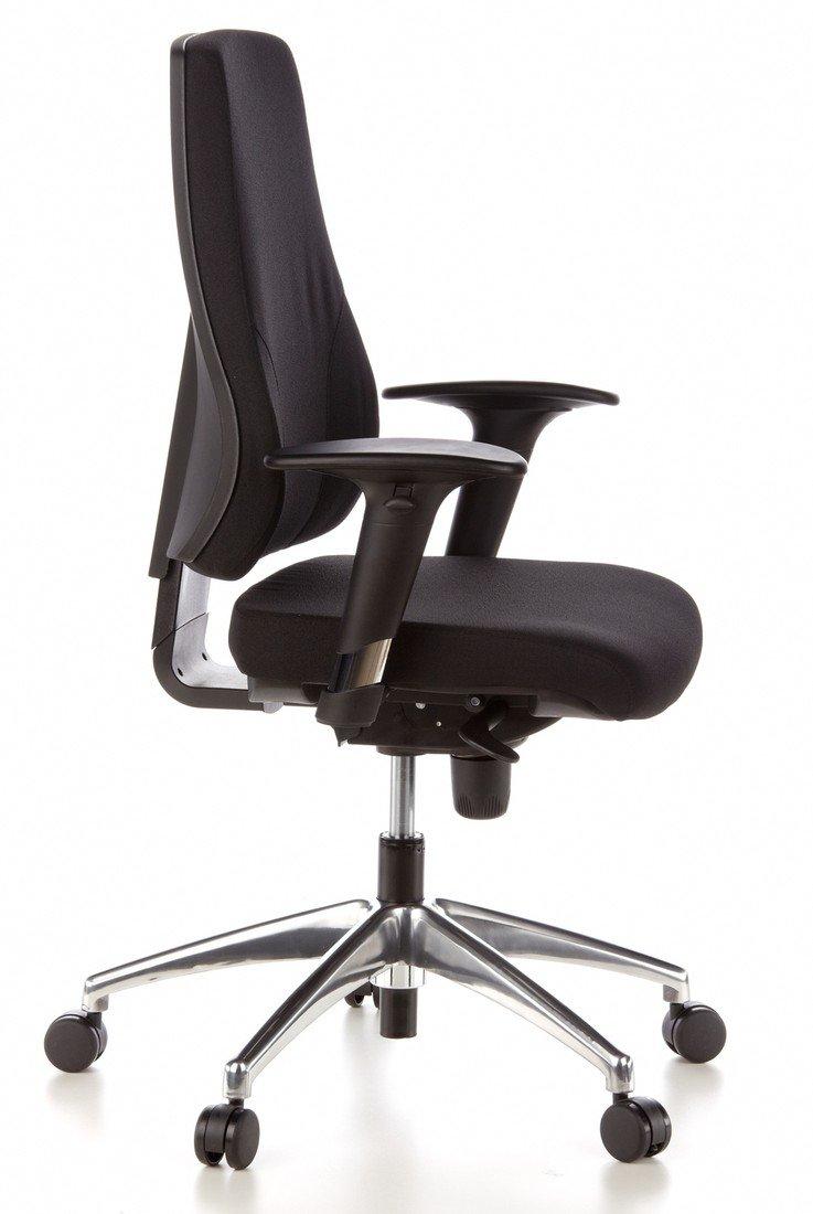 hjh OFFICE professionell kontorsstol, svängbar, verkställande, PRO-TEC 200, 608000-P Röd Svart