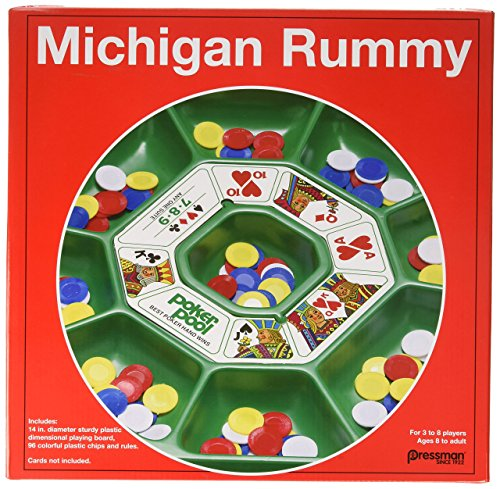 Pressman Michigan Rummy