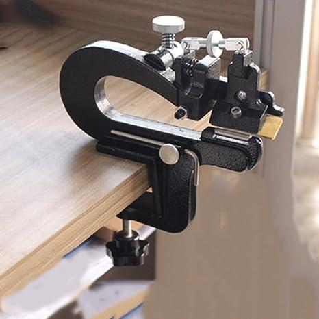 Zguo 809LEATHERSPLITTER - Máquina de coser industrial (piel, corte manual, máquina de pelar