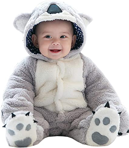 Shenhai Ropa de bebé Mono Infantil Engrosamiento Invierno ...