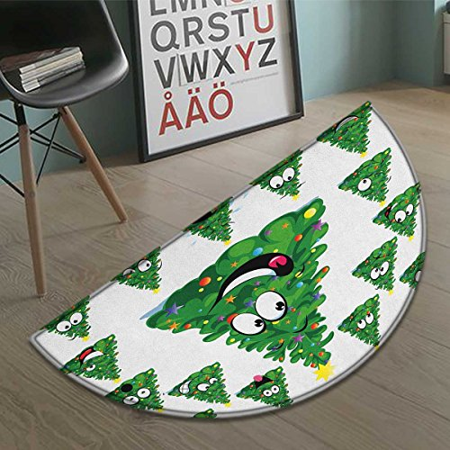 Stevenhome Christmas Half Round Doormat Outside Christmas for sale  Delivered anywhere in Canada