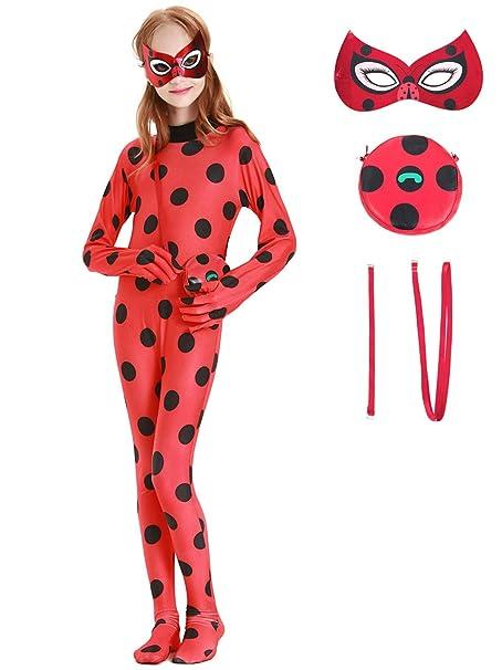 YOSICIL Disfraz de Ladybug Las Aventuras Miraculous Juguetes ...