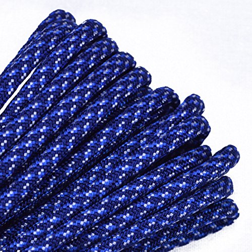 BoredParacord - 1', 10', 25', 50', 100' Hanks & 250', 1000' Spools of Parachute 550 Cord Type III 7 Strand Paracord Well Over 300 Colors - B Spec Camo - 50 Feet ()