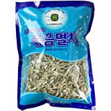 ROM AMERICA Korean Middle Size Dried Anchovies 12 oz ( 340g ) Anchovy for Soup Stock , 볶음멸치