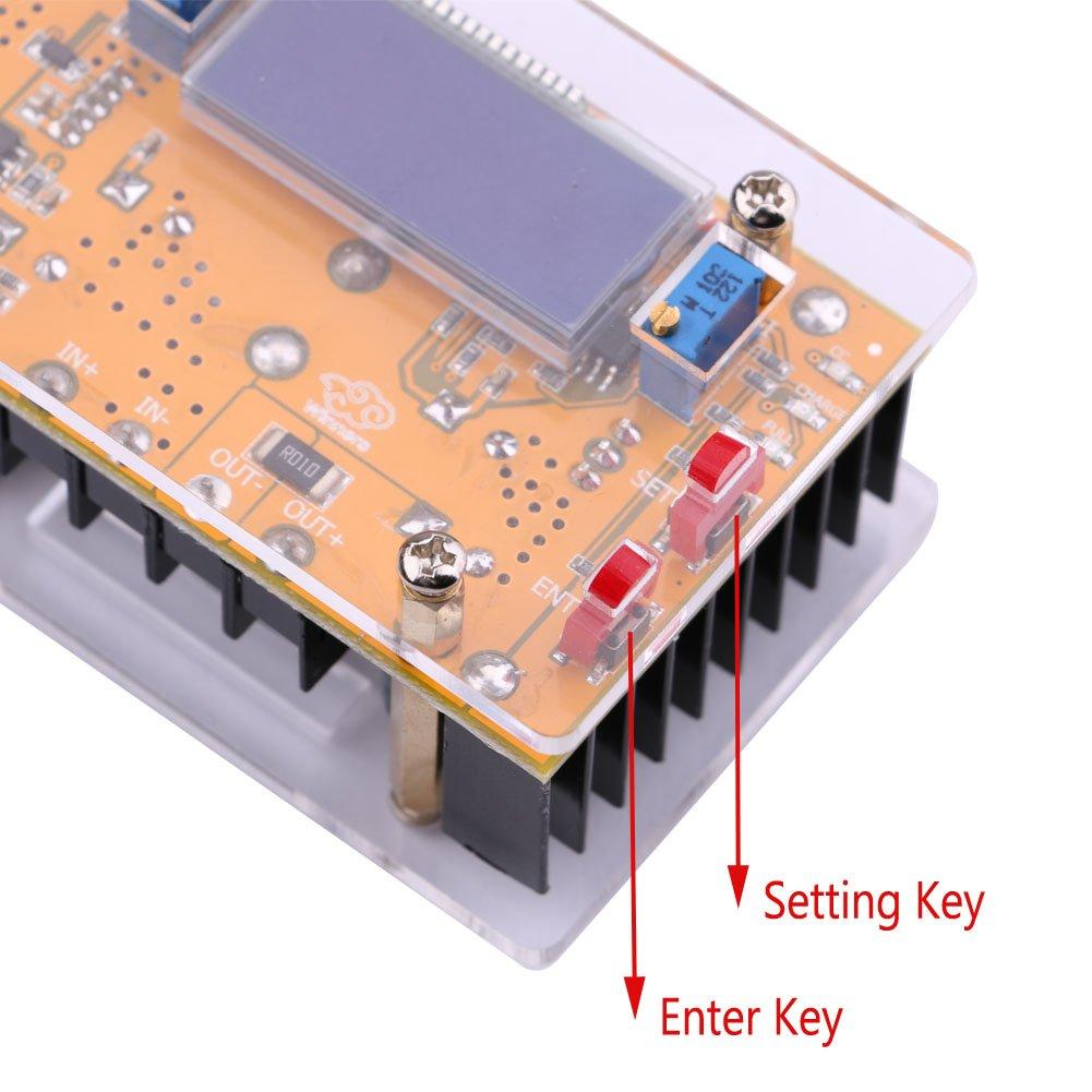 Dc Buck Converter Yeeco 150w Step Down 65v At 12a Output Super Cap Charging Circuit From 75v To 36v Input 7 12v 24v 2 32v 5v 10a Voltage Regulator Adjustable Volt Transformer Board