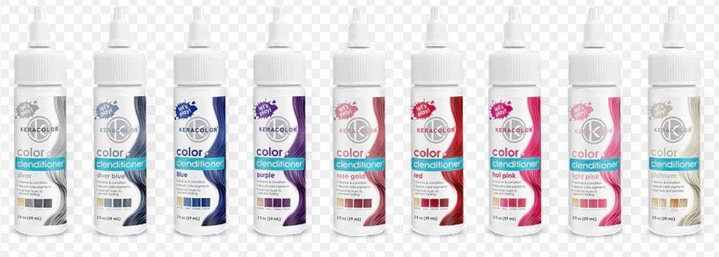 Keracolor Color + Clenditioner SILVER 2oz TRAVEL SIZE