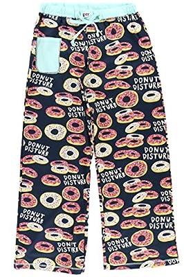 LazyOne Donut Disturb Junior PJ Yoga Pan