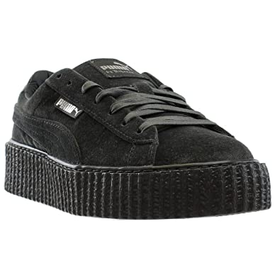 Gray By 36446603 Puma Rihanna Womens Fenty Velvet Creeper Sneakers OXPkiZu